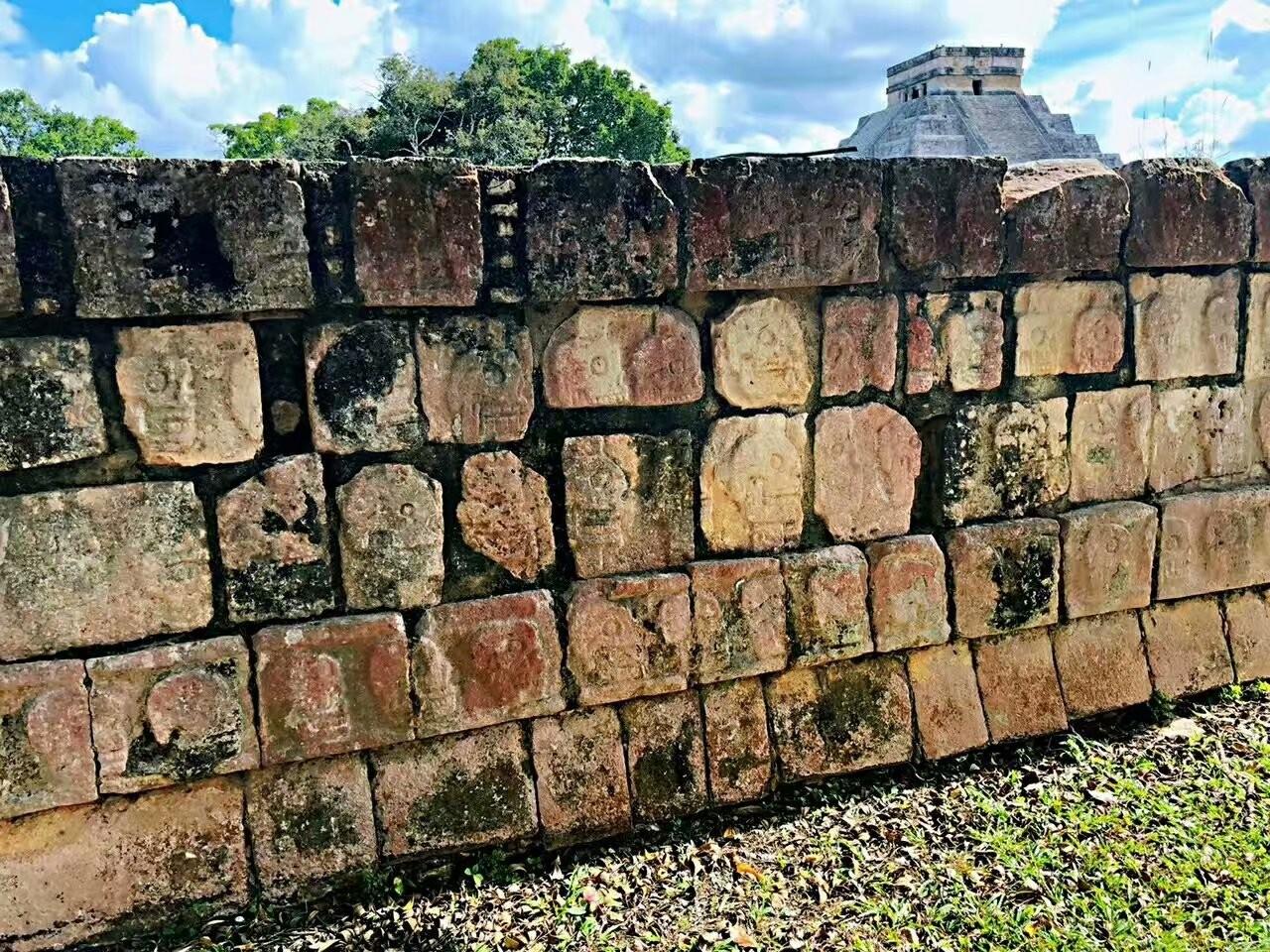 墨西哥奇琴伊察玛雅文化遗迹(图)_图1-4