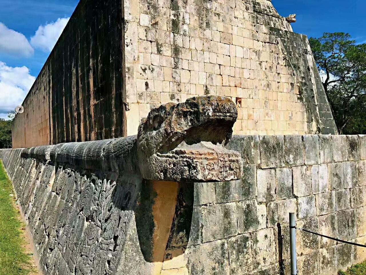 墨西哥奇琴伊察玛雅文化遗迹(图)_图1-7