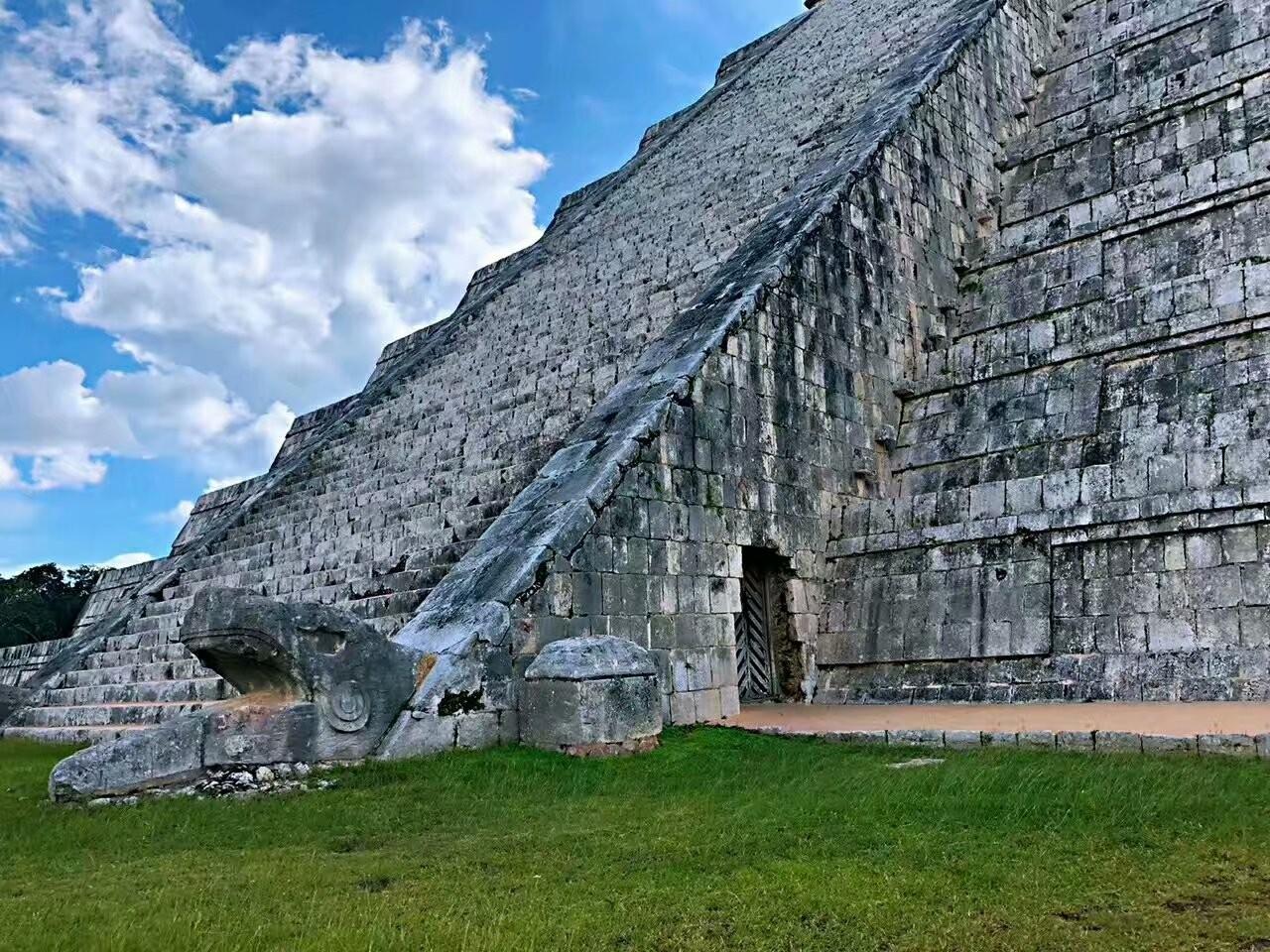 墨西哥奇琴伊察玛雅文化遗迹(图)_图1-8
