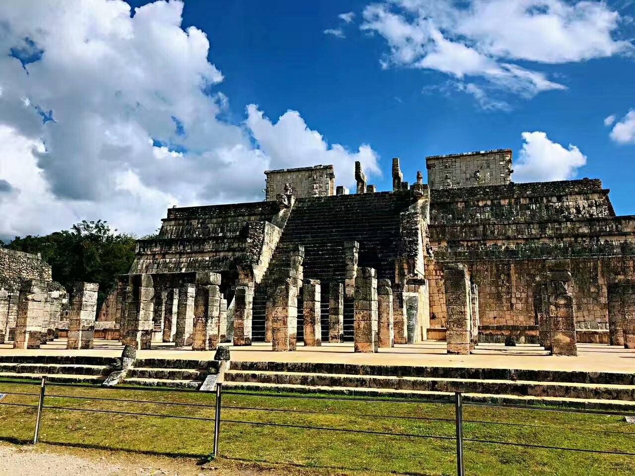 墨西哥奇琴伊察玛雅文化遗迹(图)_图1-10