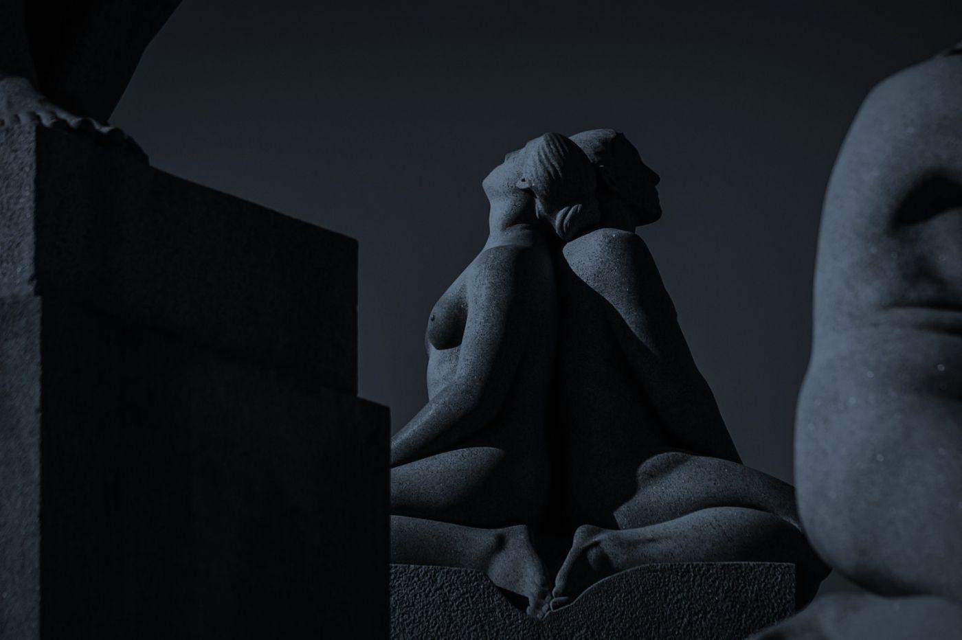 挪威维格兰雕塑公园,艺术的确来自生活_图1-8