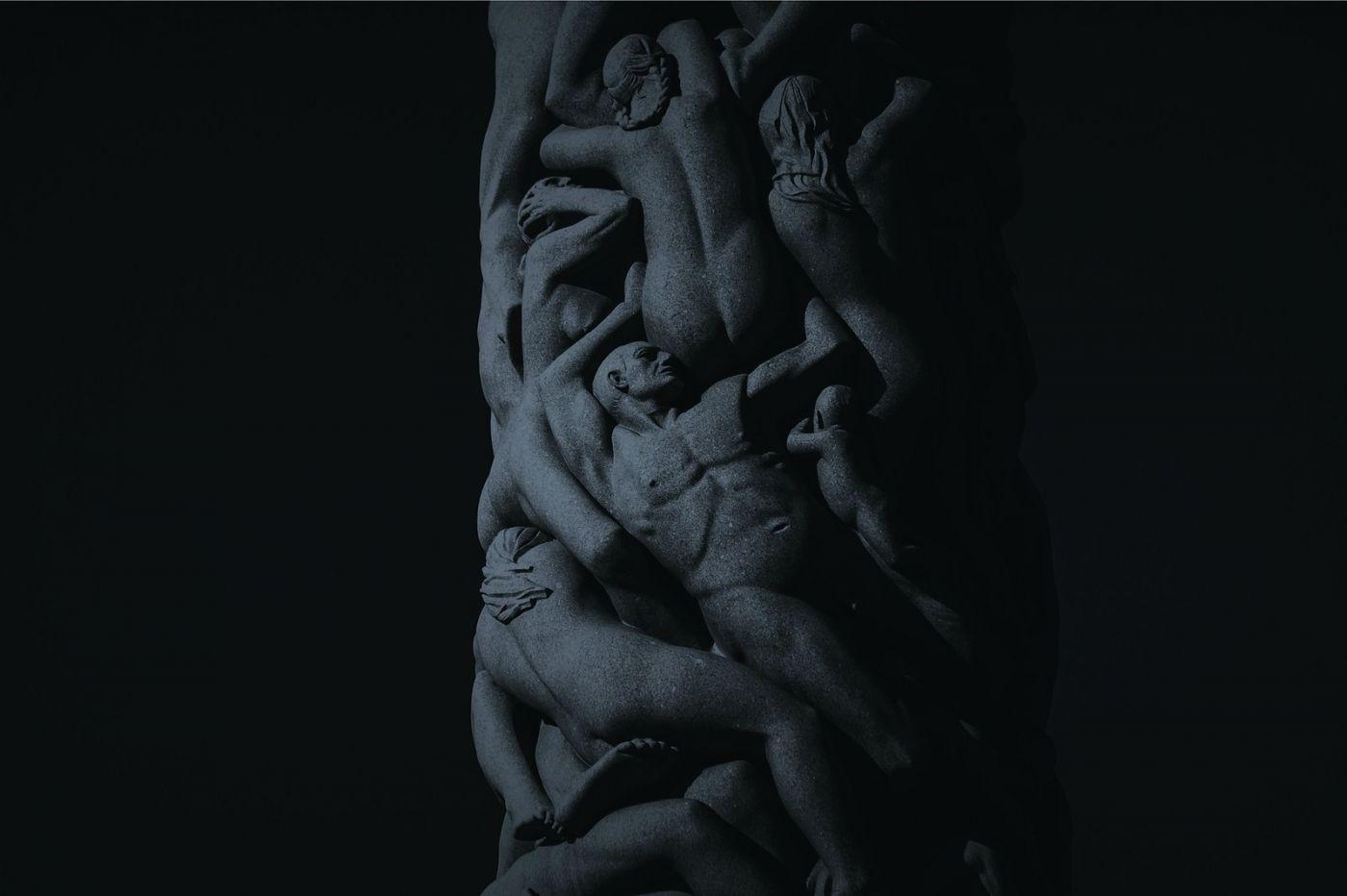 挪威维格兰雕塑公园,艺术的确来自生活_图1-3