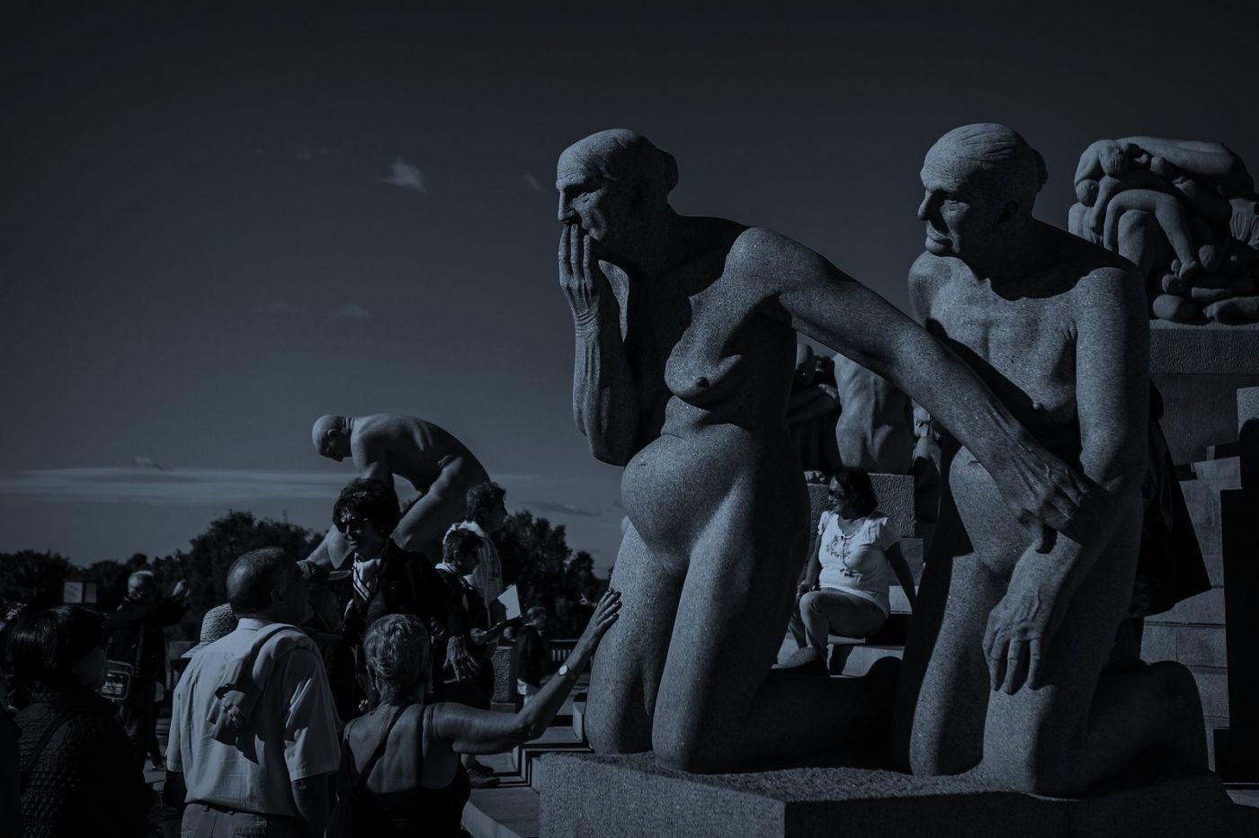 挪威维格兰雕塑公园,艺术的确来自生活_图1-9