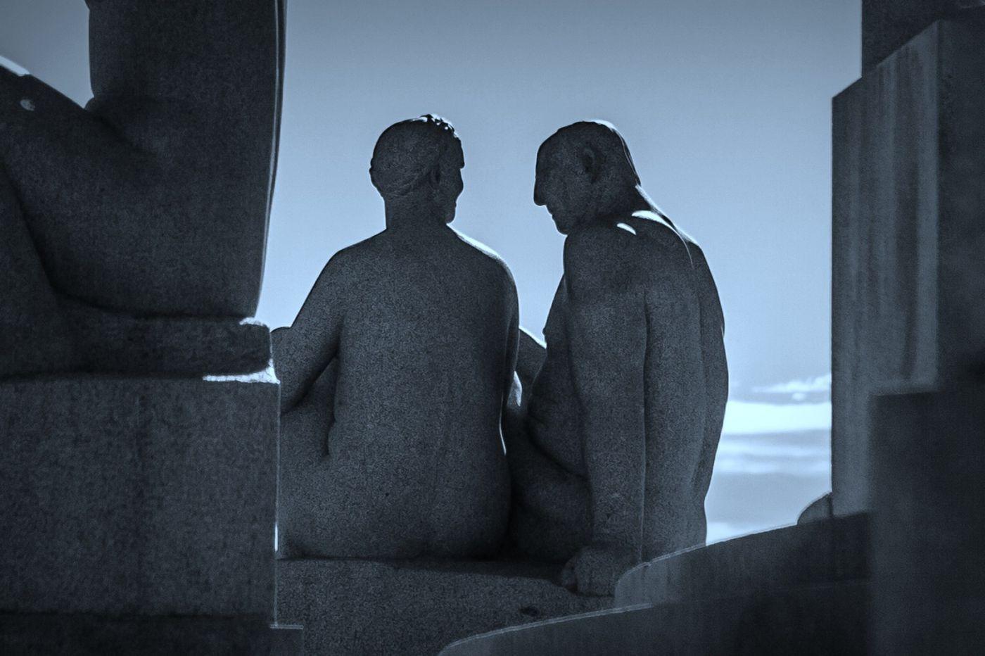 挪威维格兰雕塑公园,艺术的确来自生活_图1-10