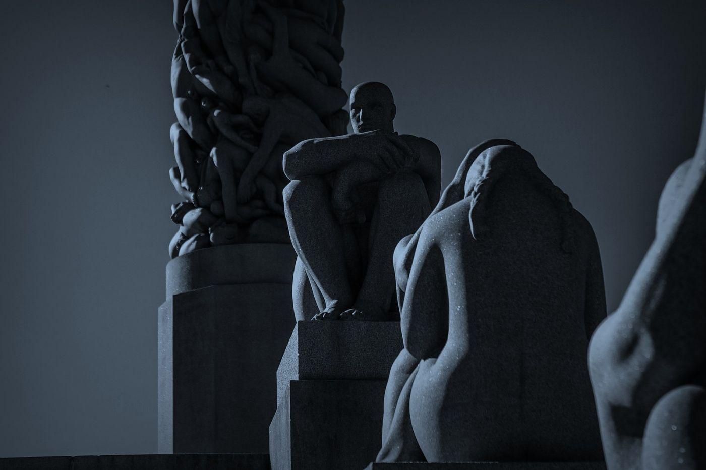 挪威维格兰雕塑公园,艺术的确来自生活_图1-11