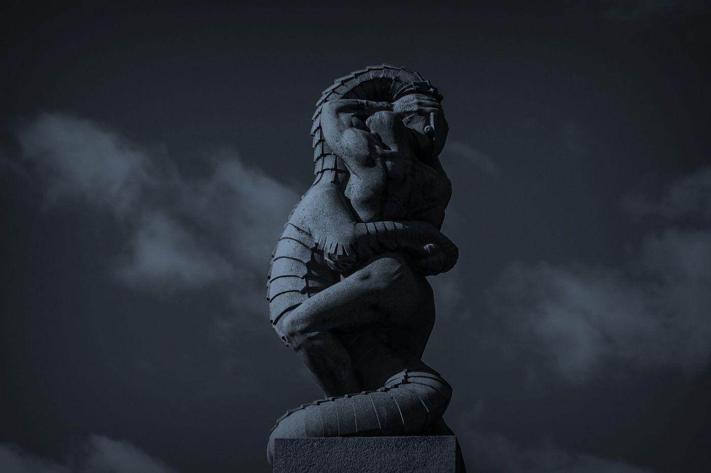 挪威维格兰雕塑公园,艺术的确来自生活_图1-12
