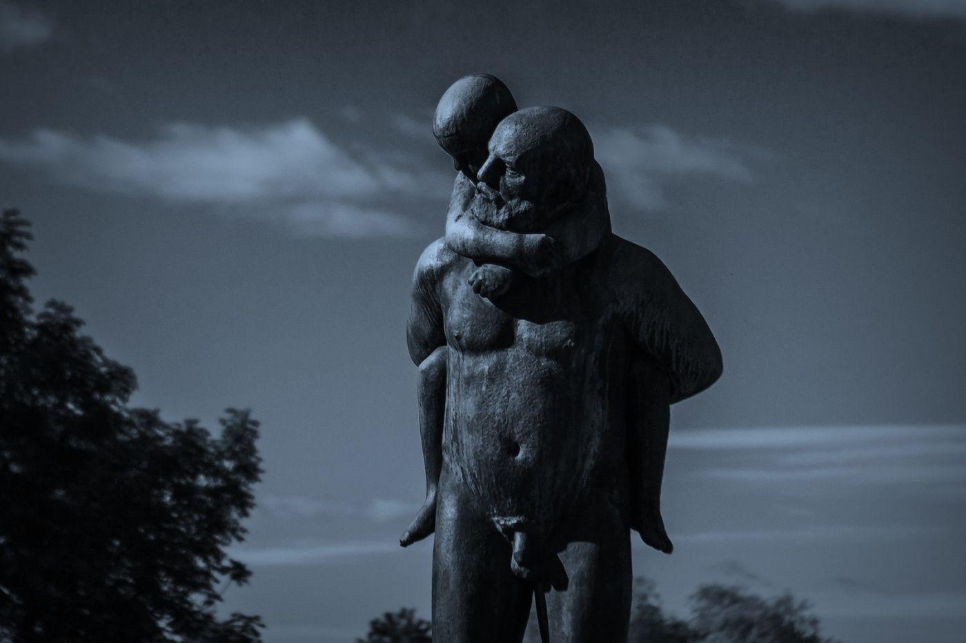 挪威维格兰雕塑公园,艺术的确来自生活_图1-16