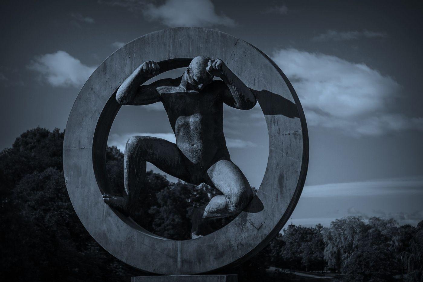 挪威维格兰雕塑公园,艺术的确来自生活_图1-15