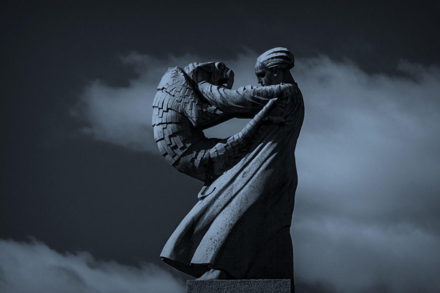 挪威维格兰雕塑公园,艺术的确来自生活_图1-14
