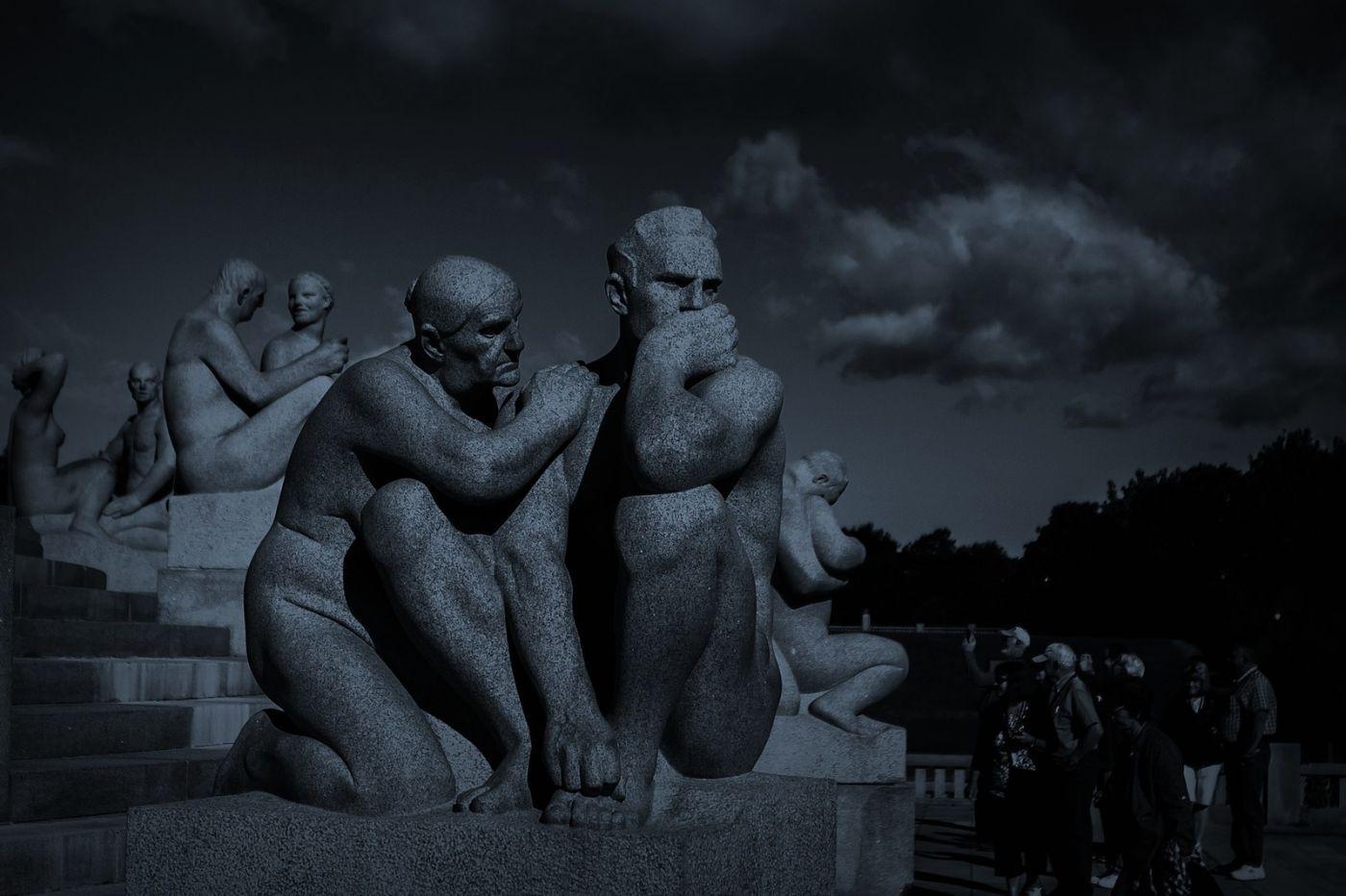 挪威维格兰雕塑公园,艺术的确来自生活_图1-13