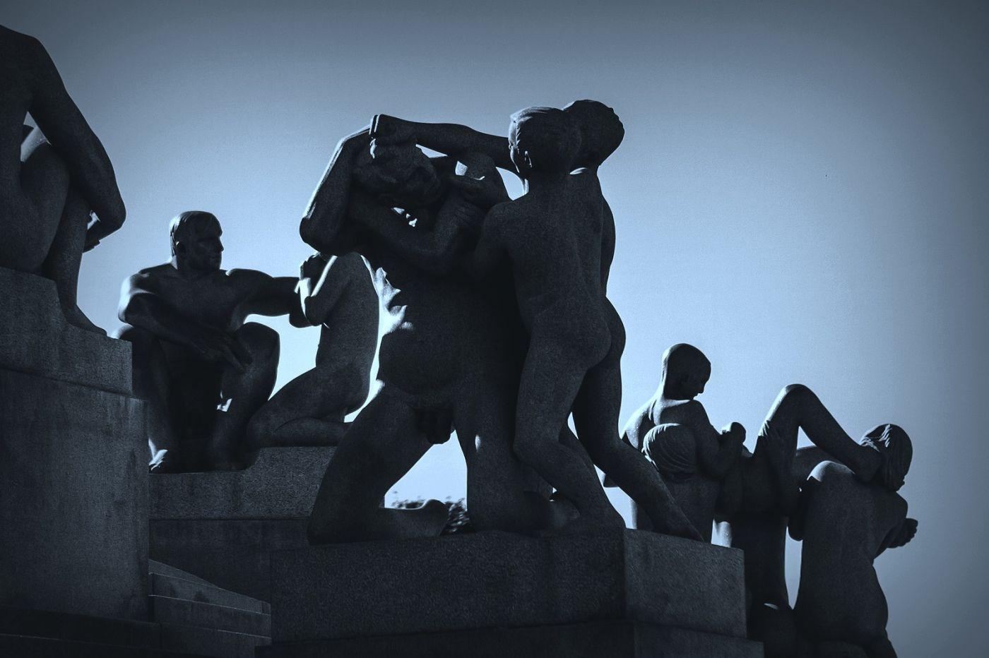挪威维格兰雕塑公园,艺术的确来自生活_图1-17