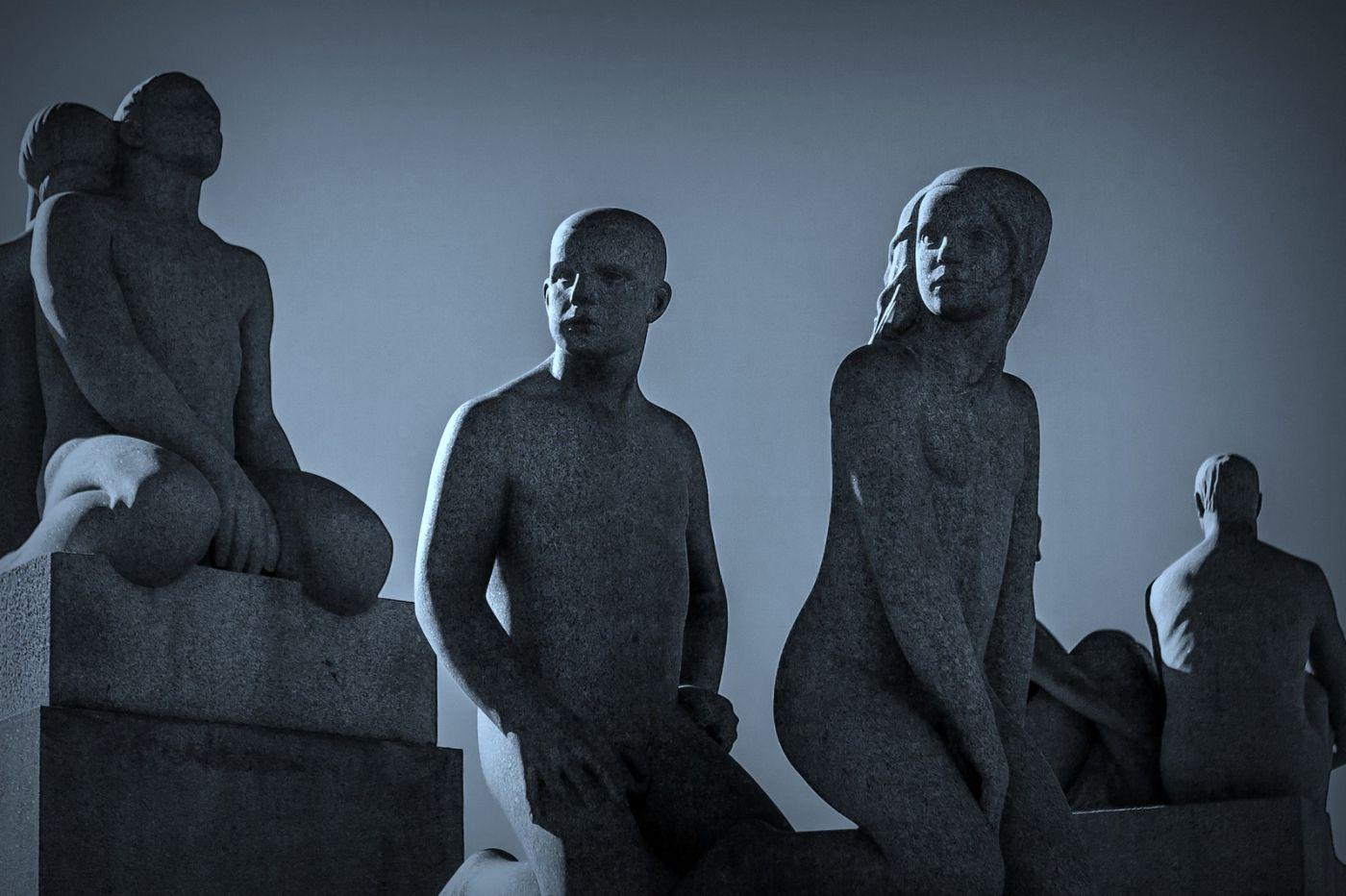 挪威维格兰雕塑公园,艺术的确来自生活_图1-18