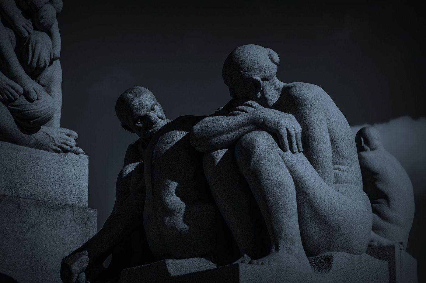 挪威维格兰雕塑公园,艺术的确来自生活_图1-19