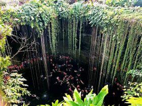 奇琴伊察玛雅遗址的圣井(图)