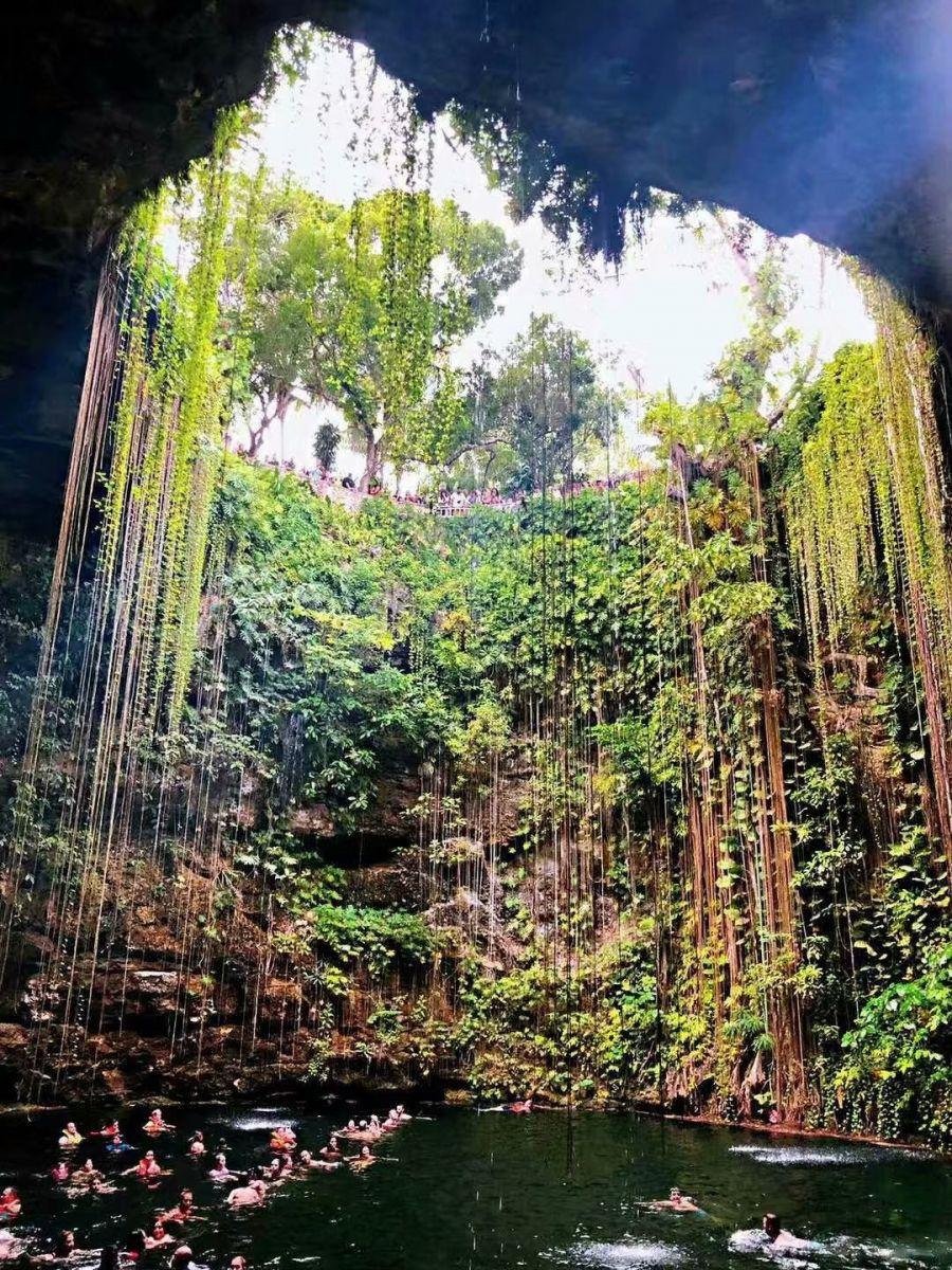 奇琴伊察玛雅遗址的圣井(图)_图1-7