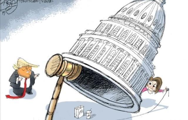 高娓娓:又谈崩!特朗普发狠:那就让美国政府关几年好了_图1-2