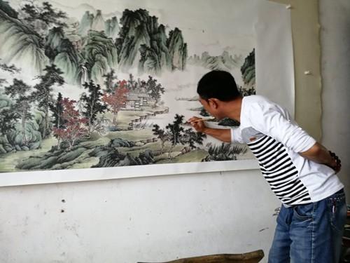 李小东:《农夫草堂》走出的非著名画家/记者李广义_图1-1