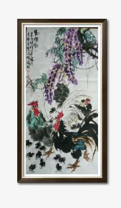 书画名家冯瑞林作品欣赏_图1-3