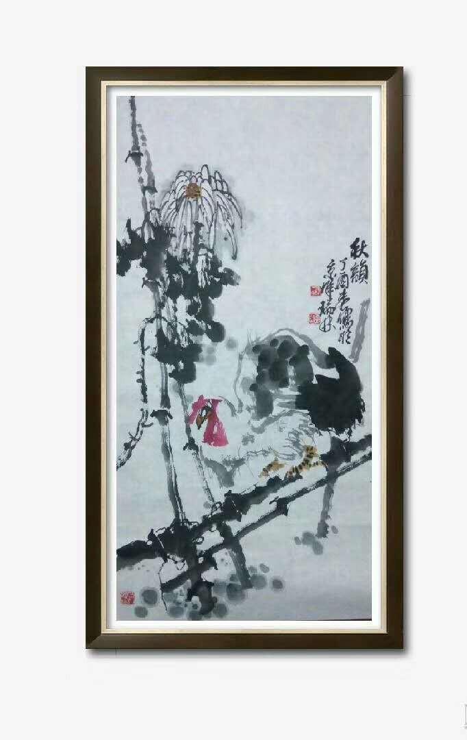 书画名家冯瑞林作品欣赏_图1-12