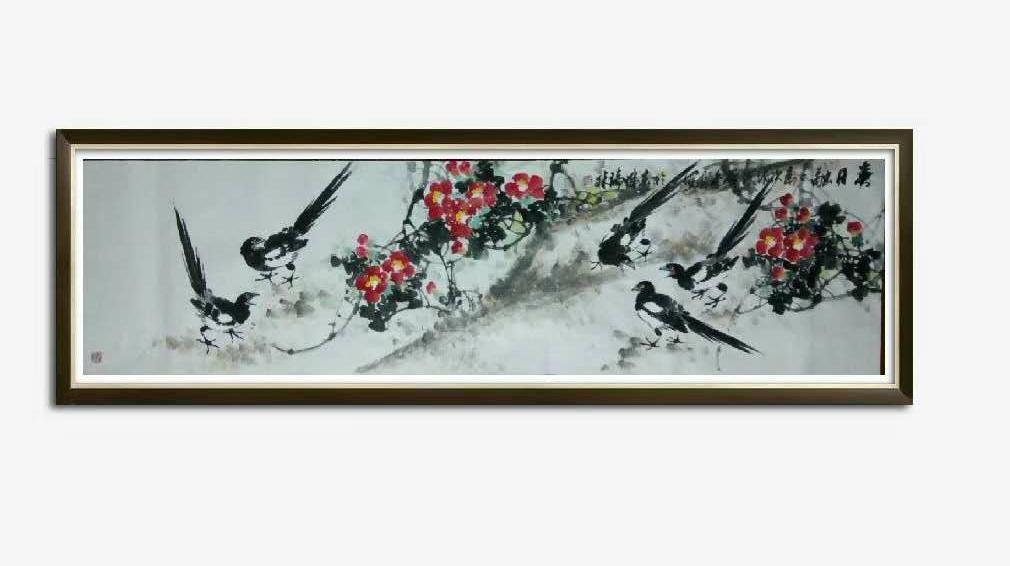 书画名家冯瑞林作品欣赏_图1-11