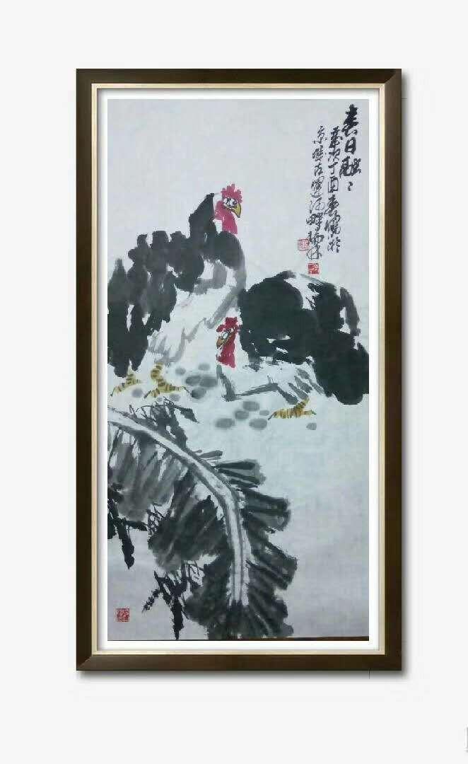 书画名家冯瑞林作品欣赏_图1-7