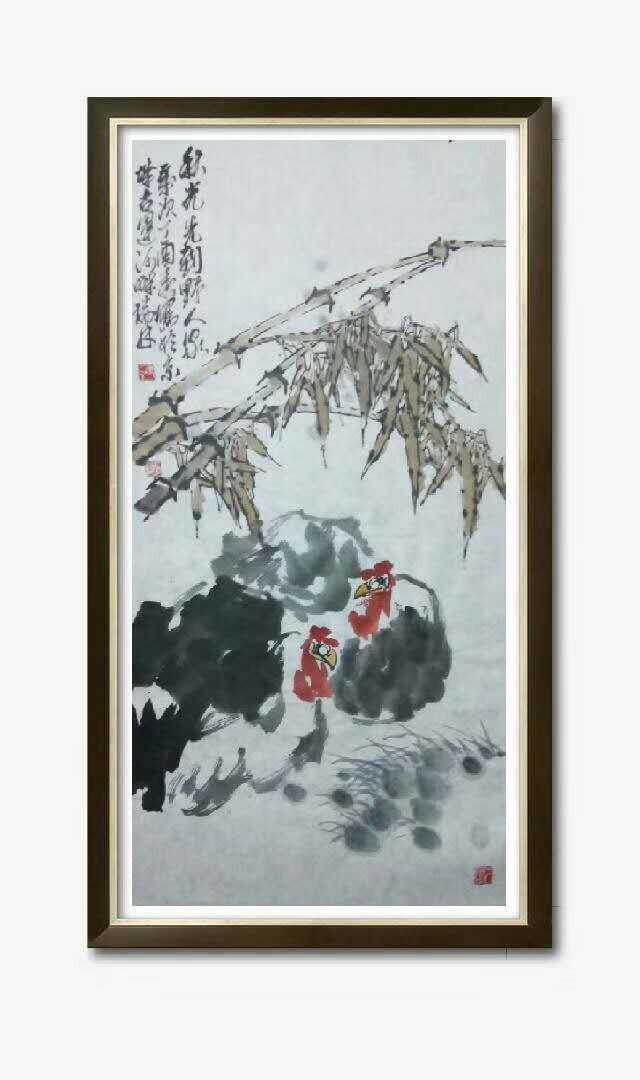 书画名家冯瑞林作品欣赏_图1-9