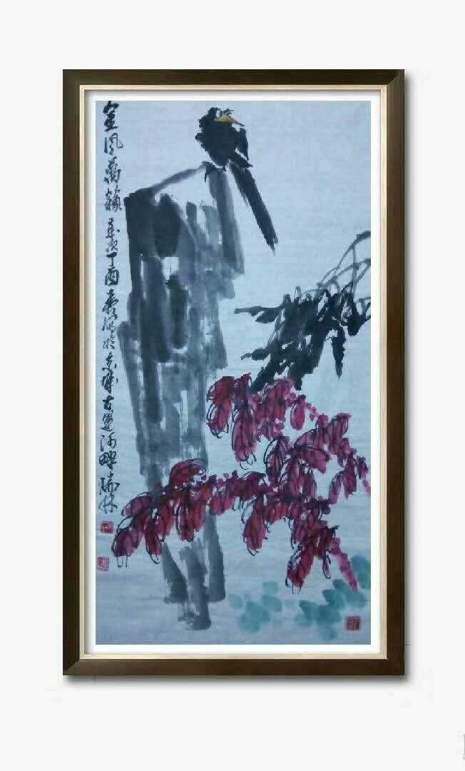 书画名家冯瑞林作品欣赏_图1-10