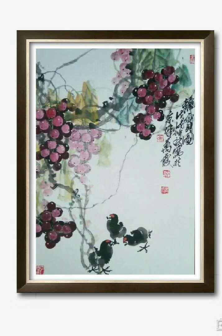 书画名家冯瑞林作品欣赏_图1-13