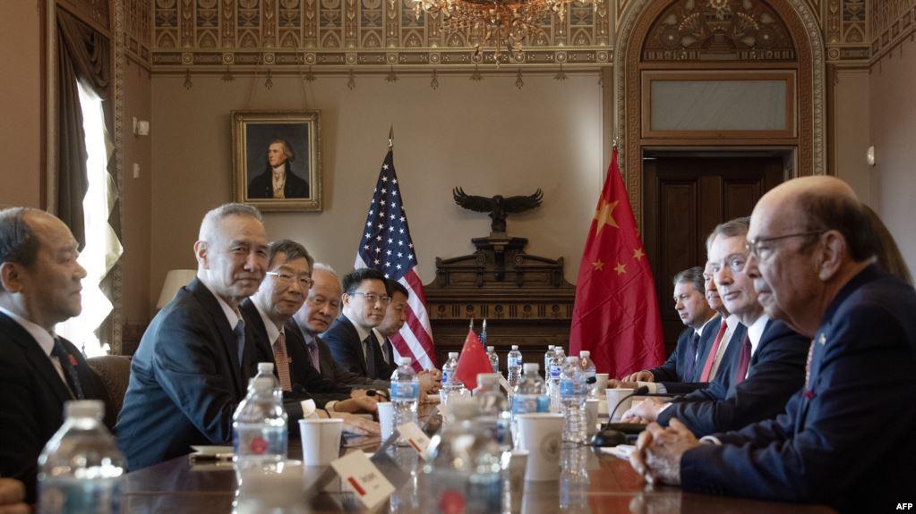 疑云重重下,中美贸易谈判今日开始_图1-1