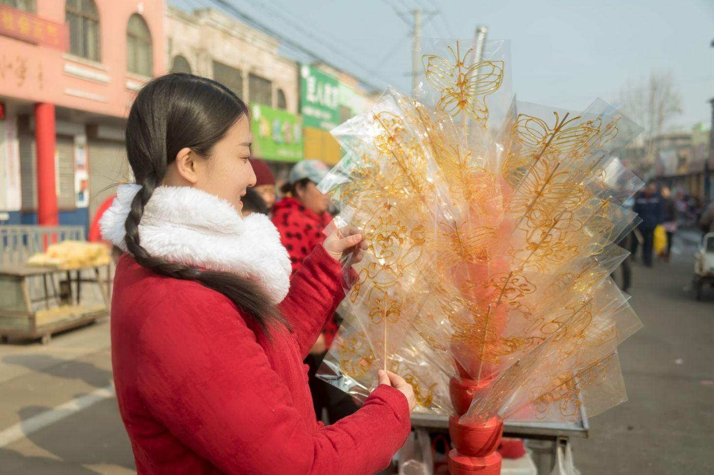 腊月二十七 乡村女教师小张老师的傅家庄年集_图1-2