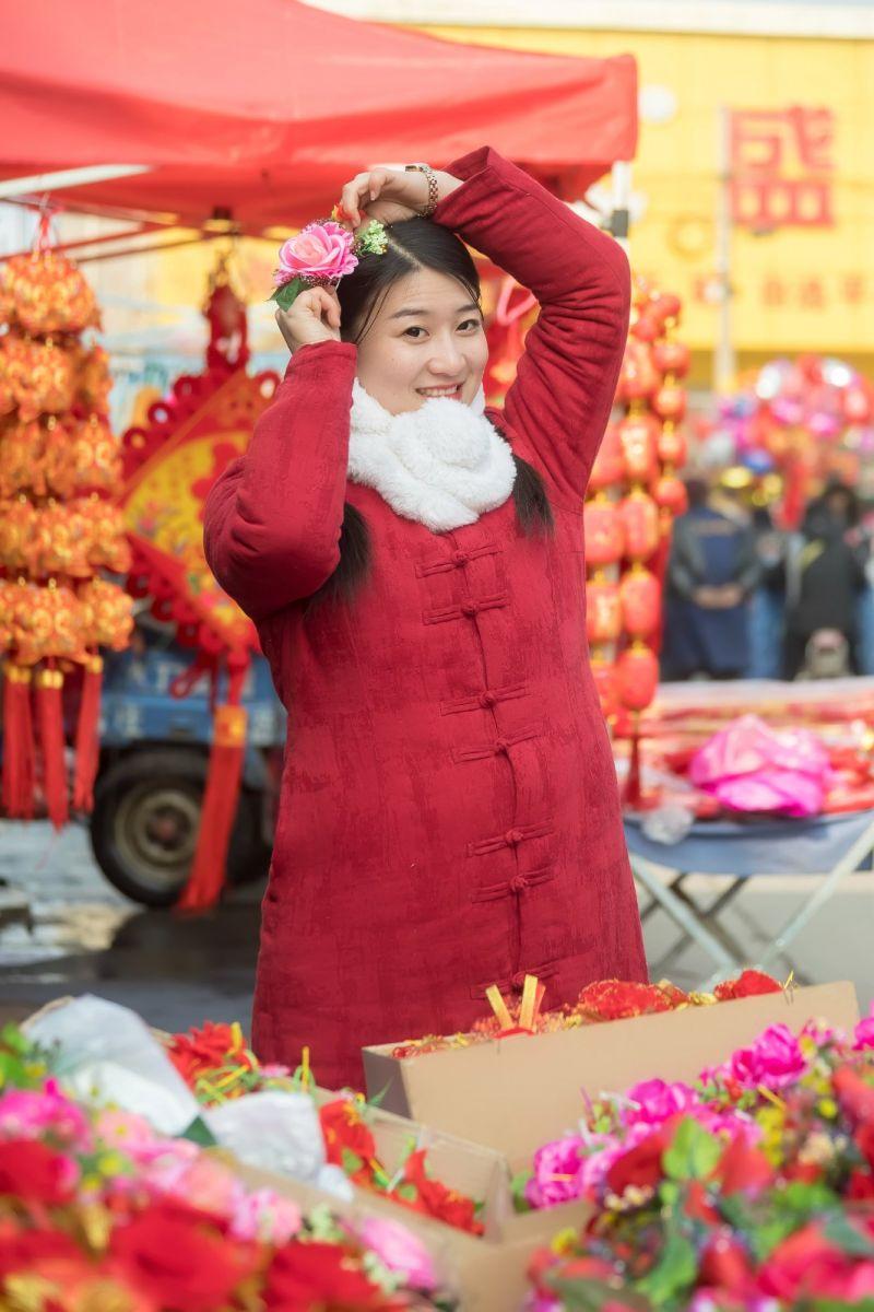 腊月二十七 乡村女教师小张老师的傅家庄年集_图1-4