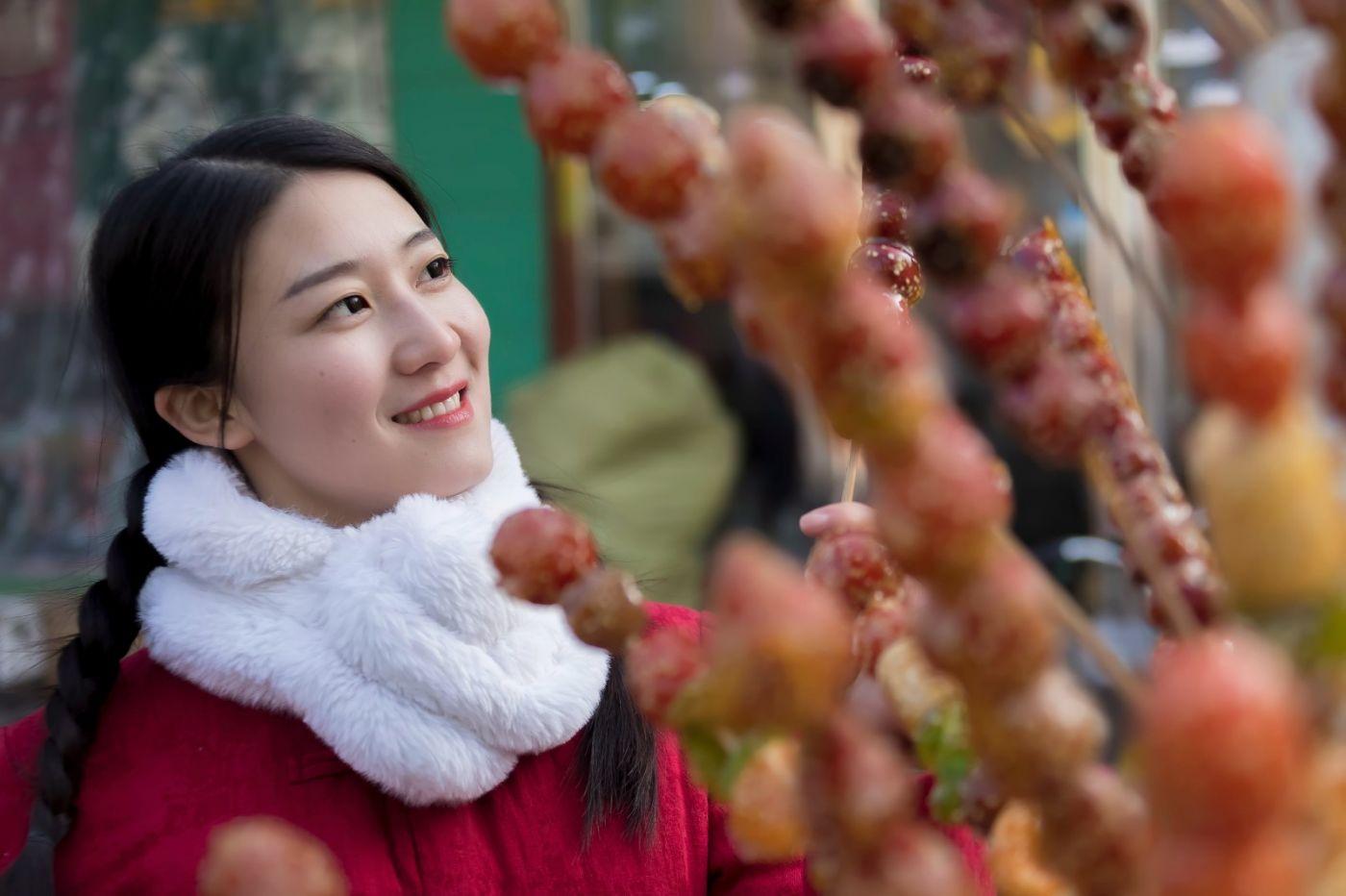 腊月二十七 乡村女教师小张老师的傅家庄年集_图1-9