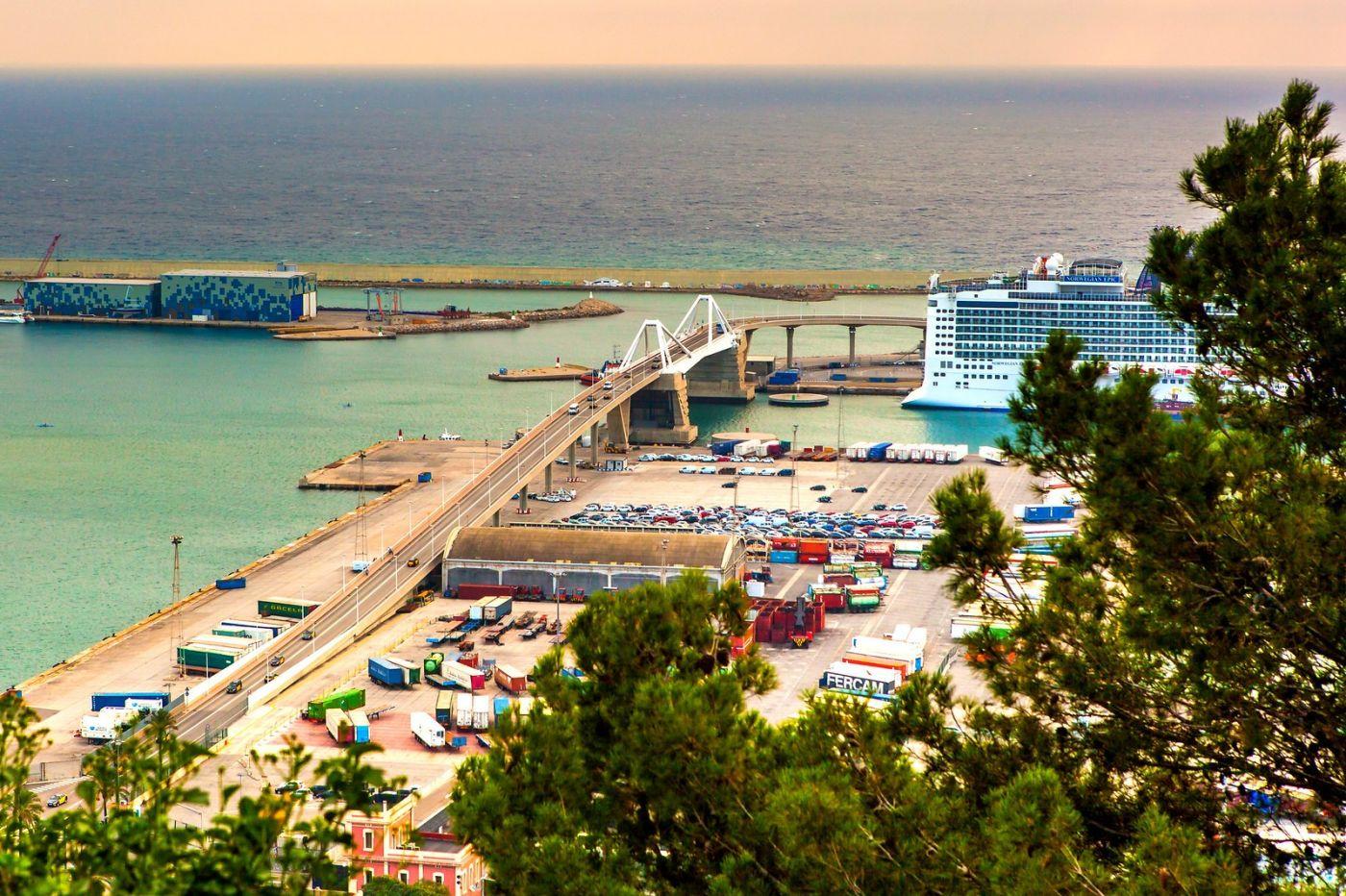 西班牙小岛,鸟瞰港景_图1-4