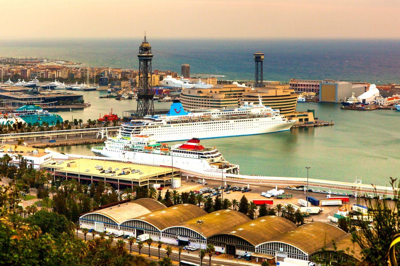 西班牙小岛,鸟瞰港景_图1-10