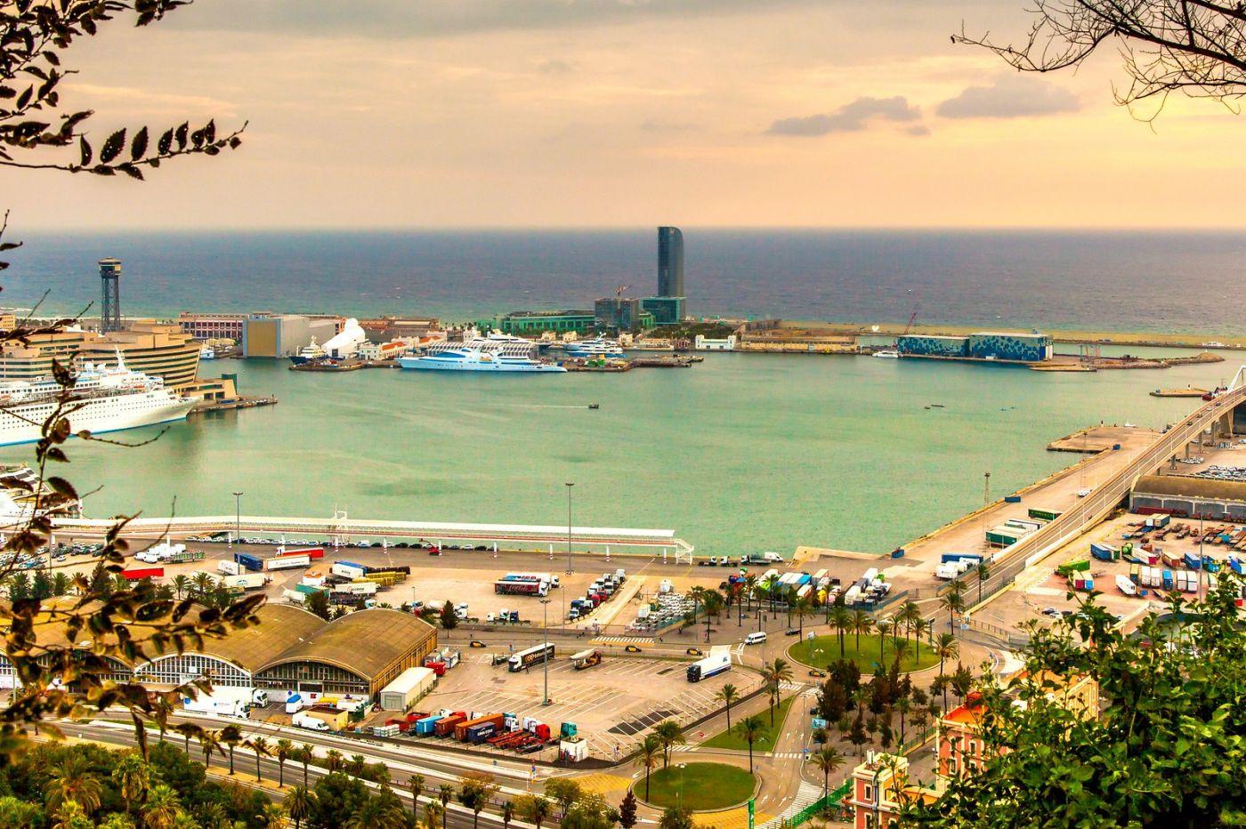 西班牙小岛,鸟瞰港景_图1-8