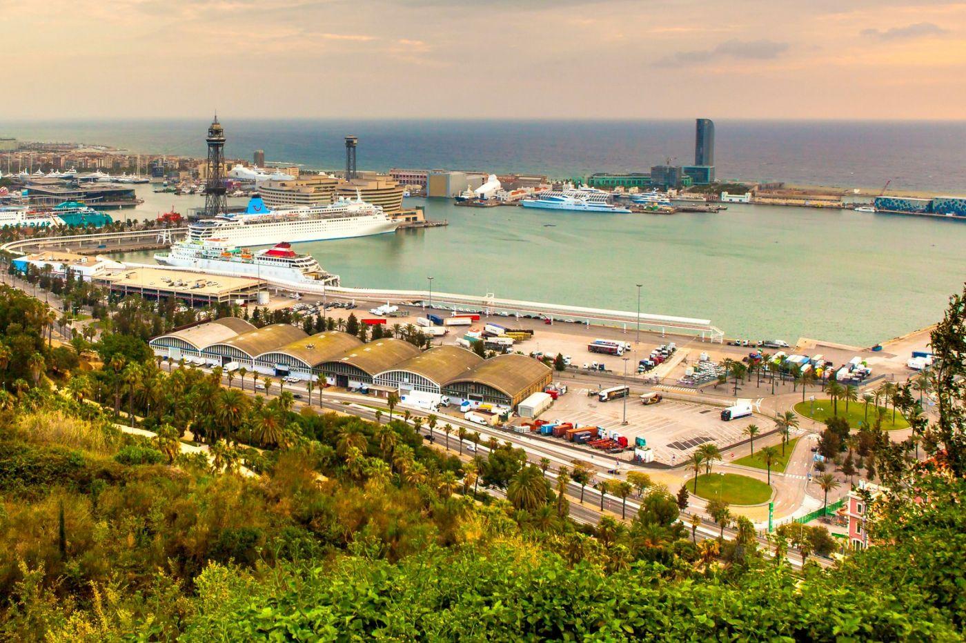 西班牙小岛,鸟瞰港景_图1-5