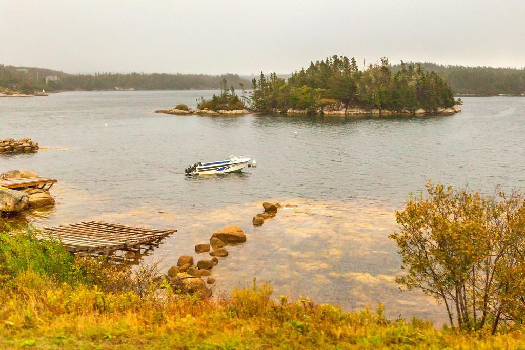 加拿大旅途,朦胧的窗外景色_图1-1