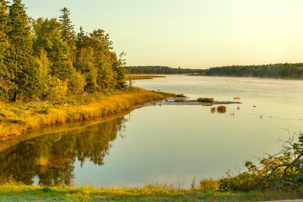 加拿大旅途,朦胧的窗外景色_图1-8