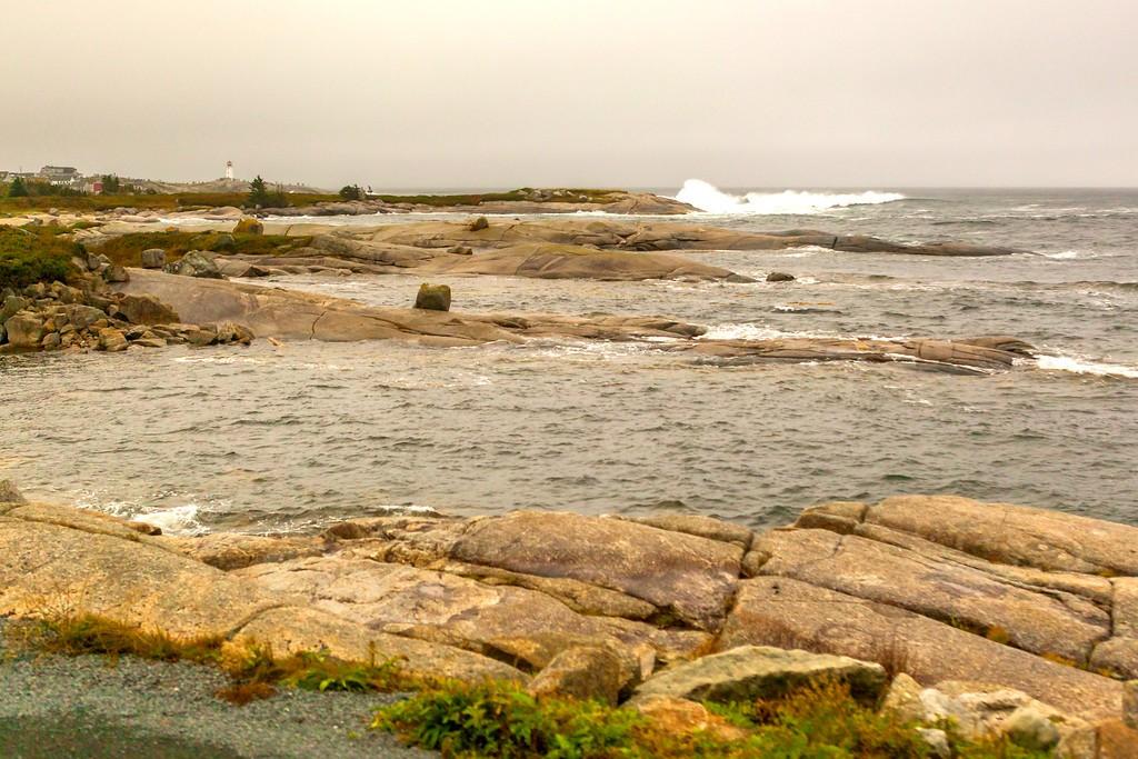 加拿大旅途,朦胧的窗外景色_图1-11