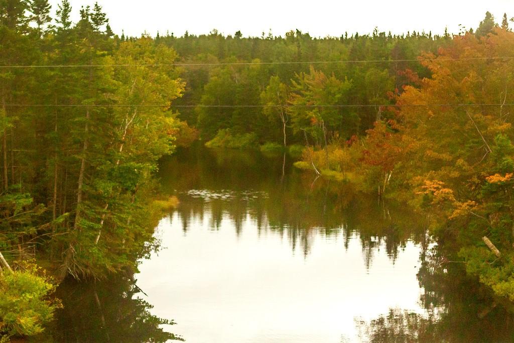 加拿大旅途,朦胧的窗外景色_图1-17