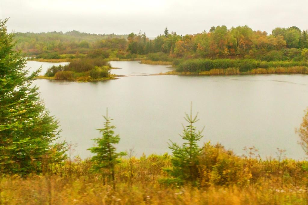 加拿大旅途,朦胧的窗外景色_图1-28