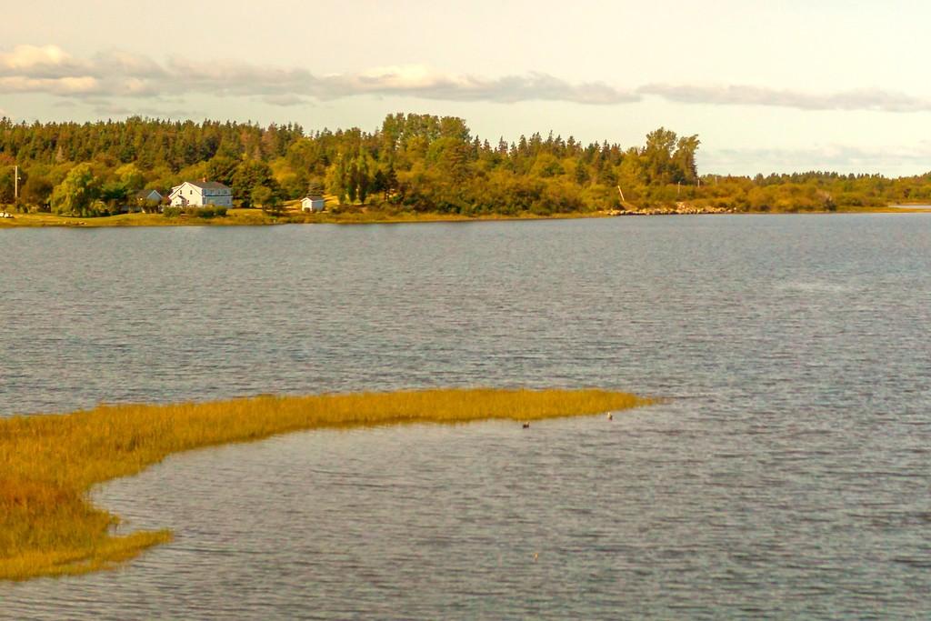 加拿大旅途,朦胧的窗外景色_图1-26