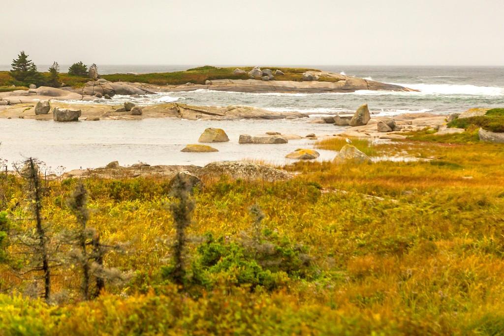 加拿大旅途,朦胧的窗外景色_图1-36