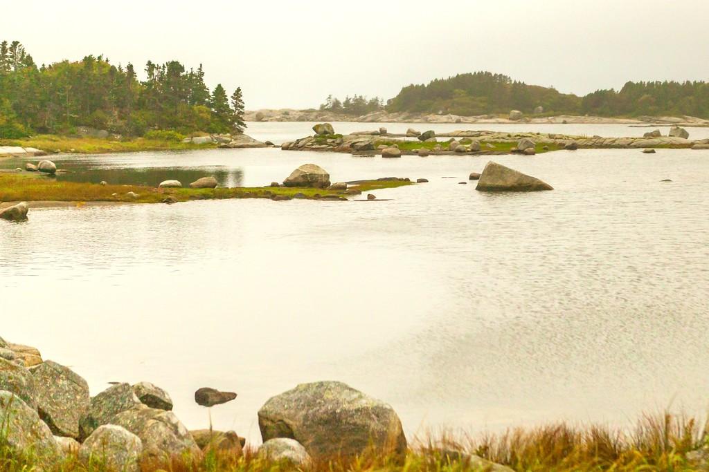 加拿大旅途,朦胧的窗外景色_图1-35
