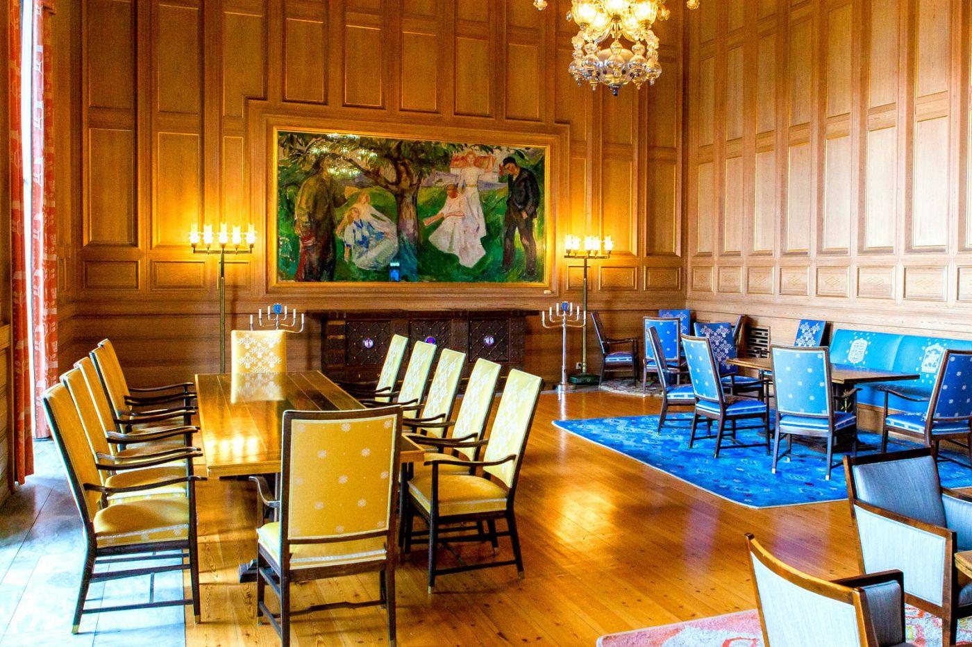 挪威奥塞罗市政厅,在这里办公没脾气_图1-14