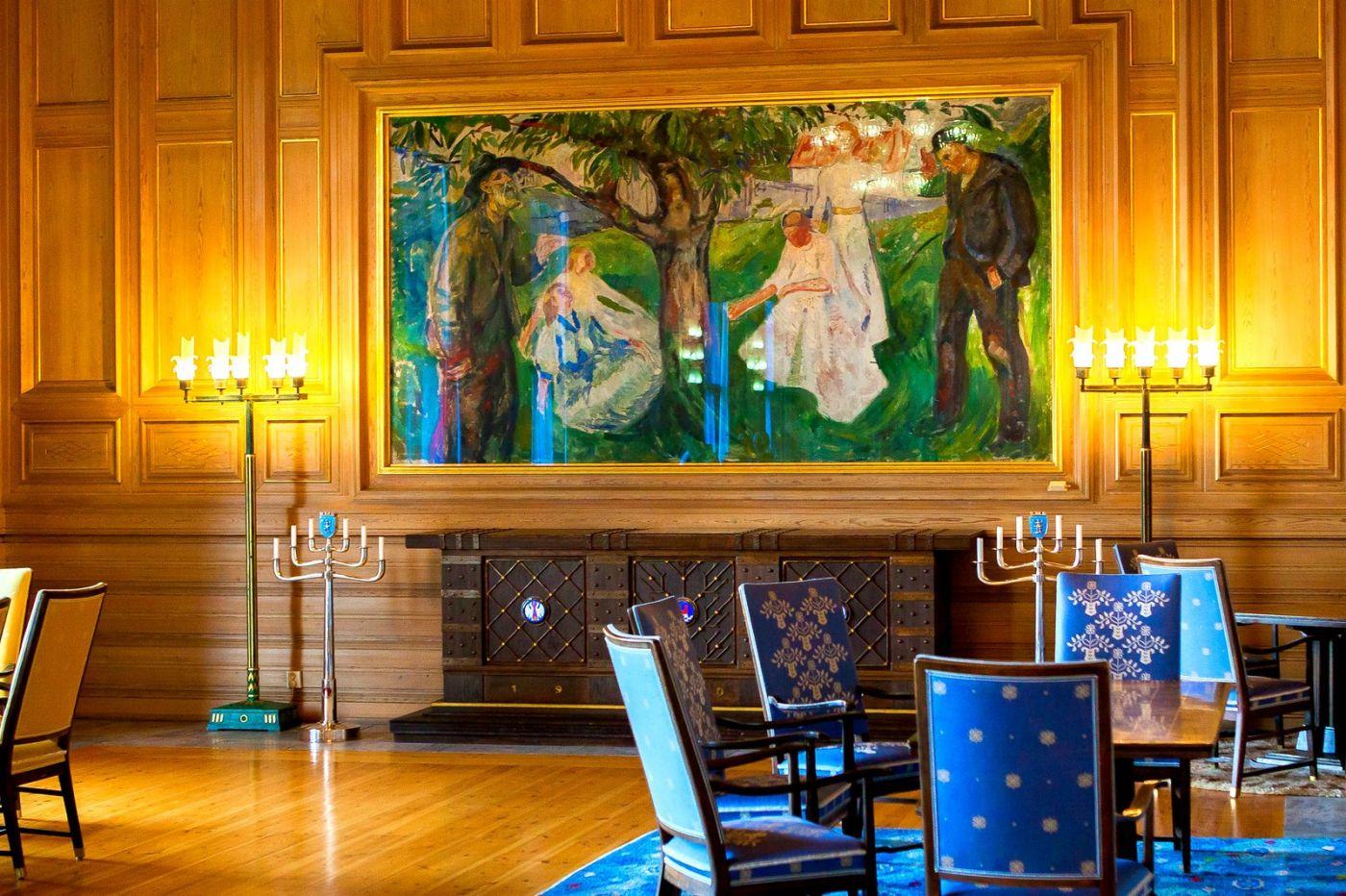 挪威奥塞罗市政厅,在这里办公没脾气_图1-20