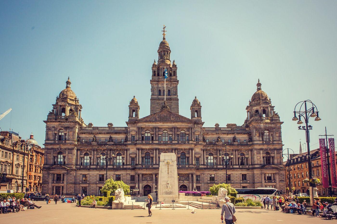 苏格兰格拉斯哥,有情调的城市_图1-1