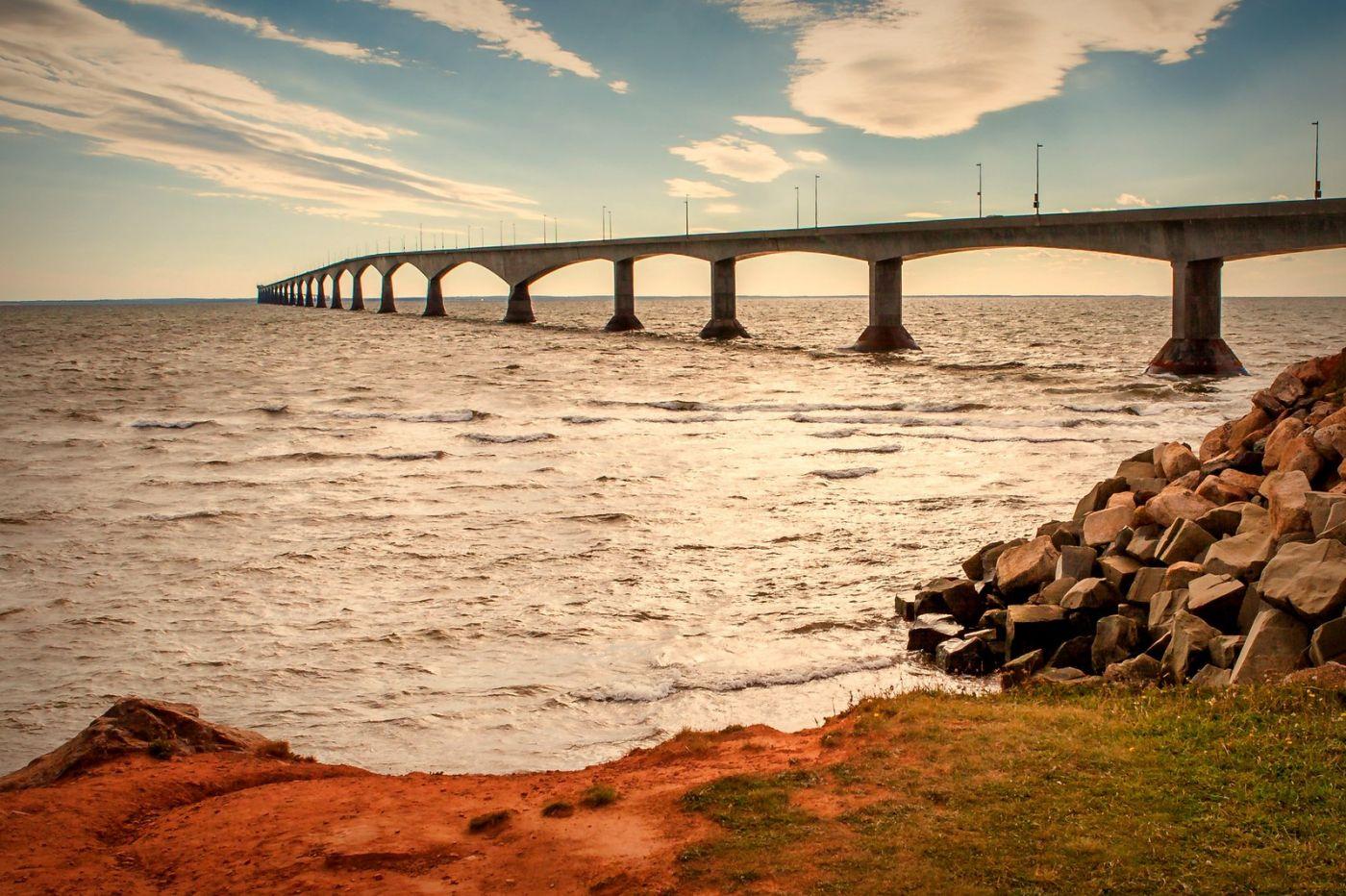 加拿大风景,长桥前逗留_图1-11