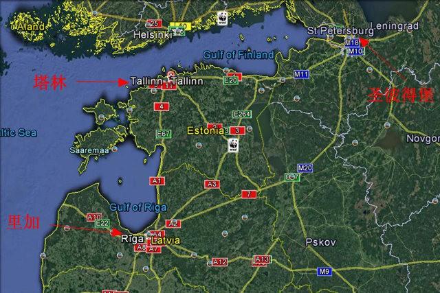 从塔林看爱沙尼亚的首都_图1-2
