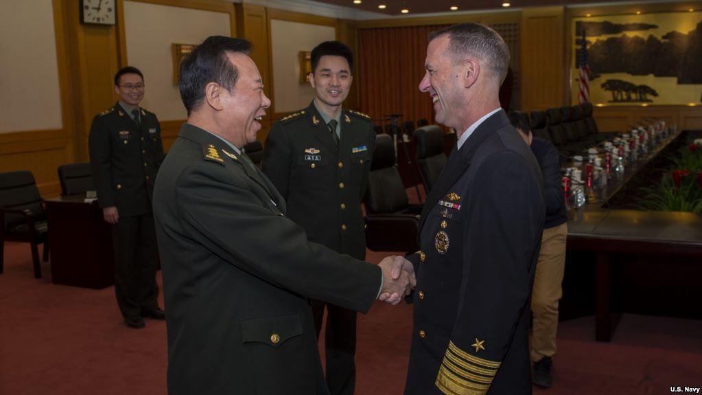 美海军上将理察孙谈美航母生存能力_图1-1